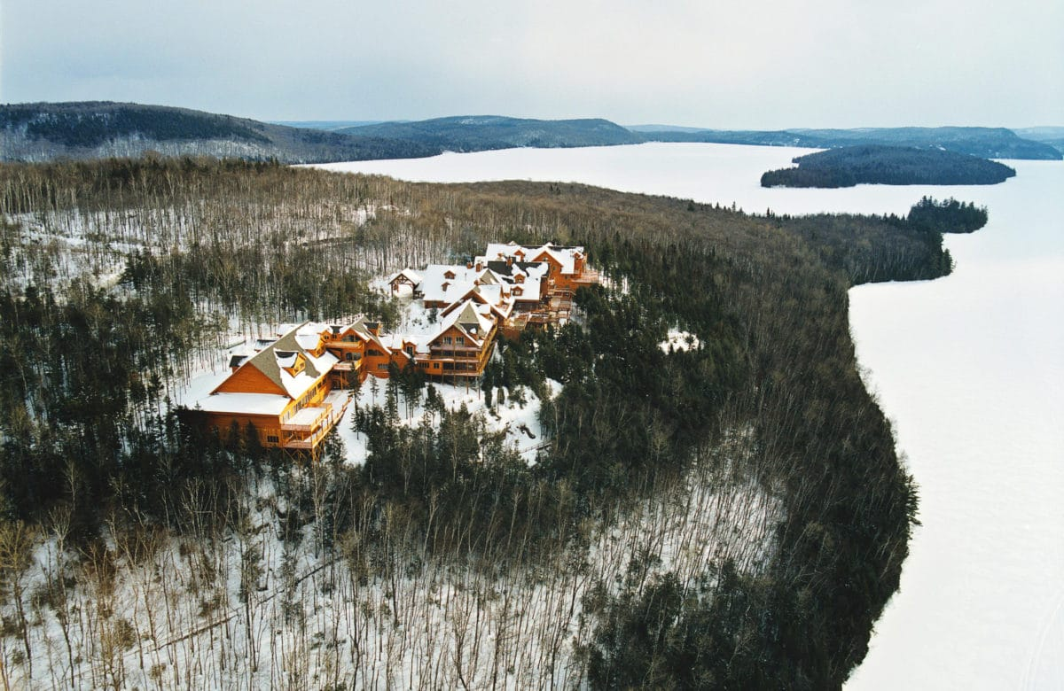 Hotel sacacomie hiver