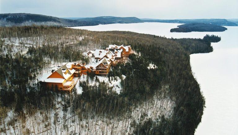 Hotel sacacomie hiver