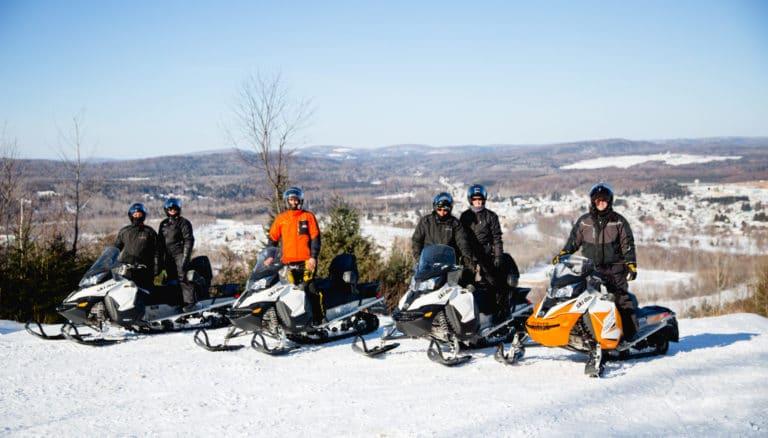 raid motoneige hivernal